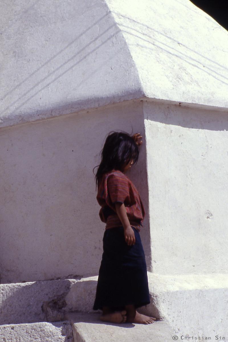 au Guatémala elle pense au vent